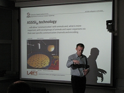 ASSISI project presented to the Faculty