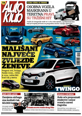 Auto klub: Article about VISTA...