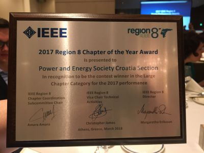 2017 IEEE Region 8 Chapter of the...