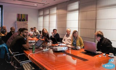 MORUS project meeting at Breaking the...