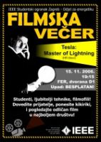 Movie night : organized by IEEE...