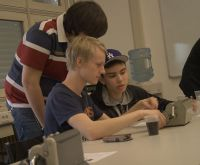 Swedish high school students visit FER