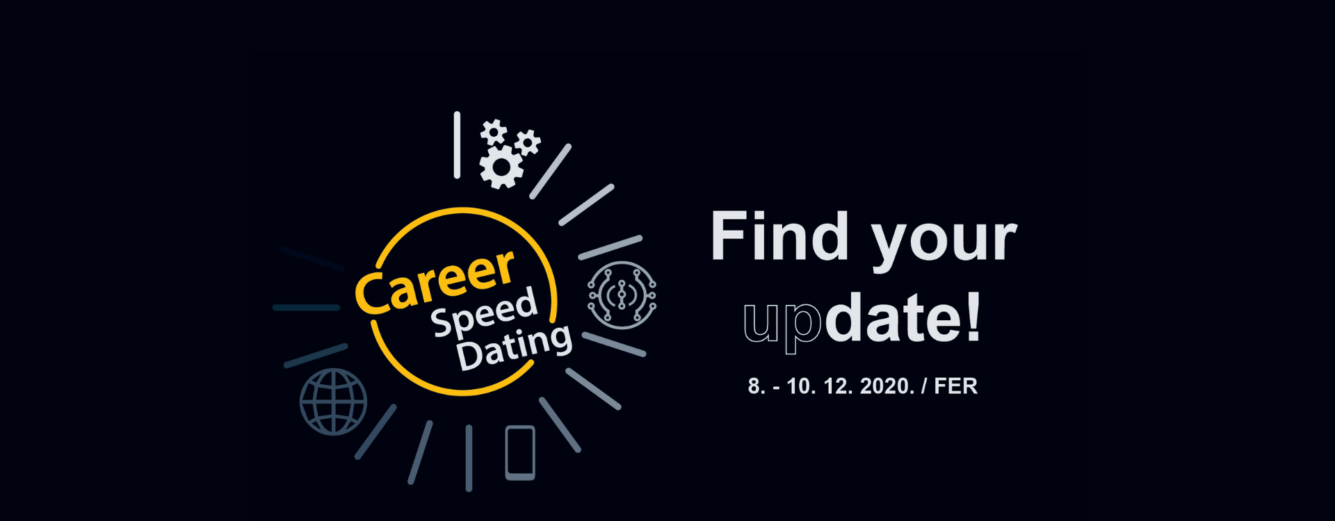 Počinju prijave poduzeća za Career Speed Dating 2020.