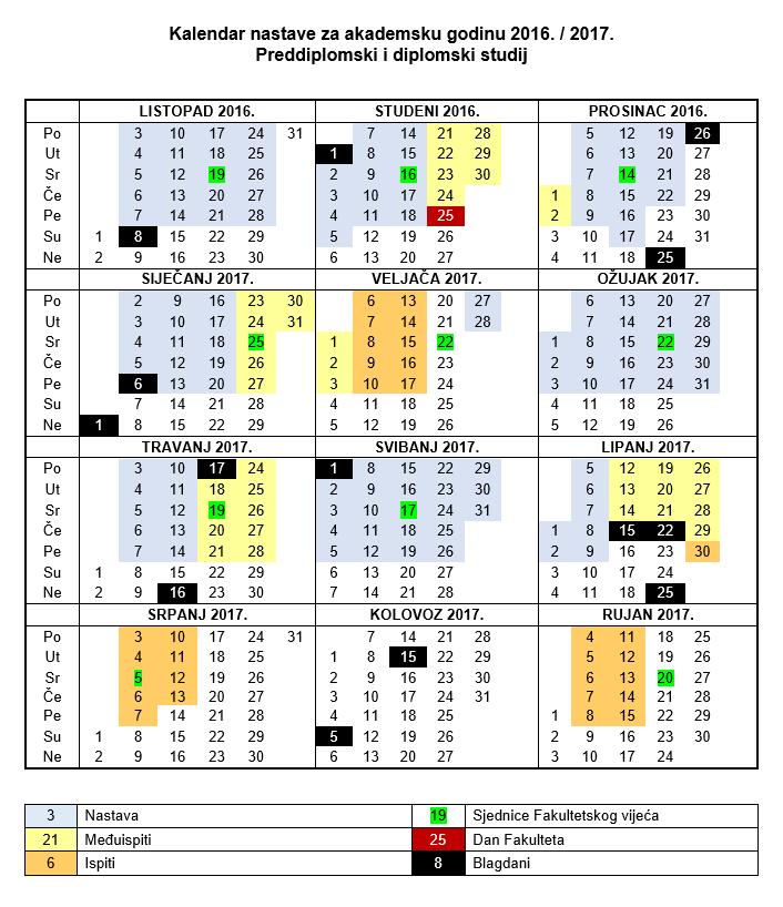 Kalendar 2017 Hrvatska Related Keywords & Suggestions - Kalendar 2017 ...